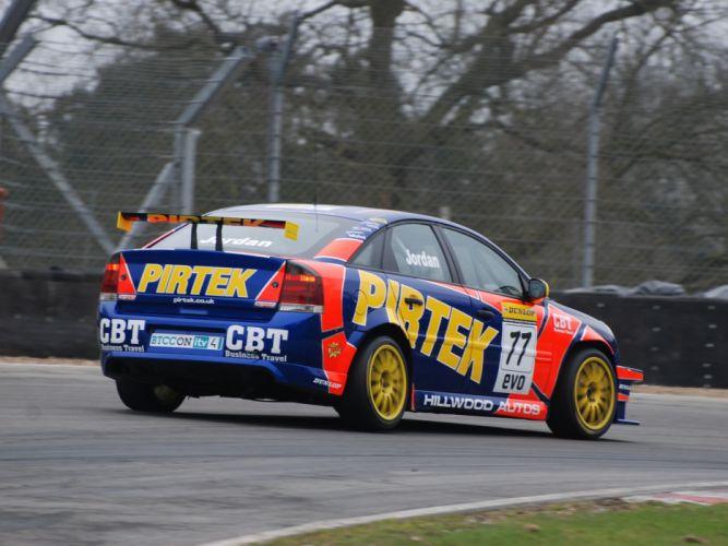 2007 Vauxhall Vectra VXR BTCC race racing x wallpaper