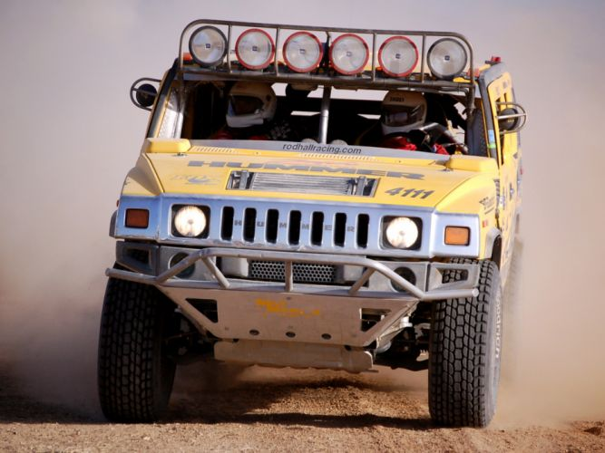 2007 Hummer H2 Race Truck racing offroad 4x4 suv f wallpaper