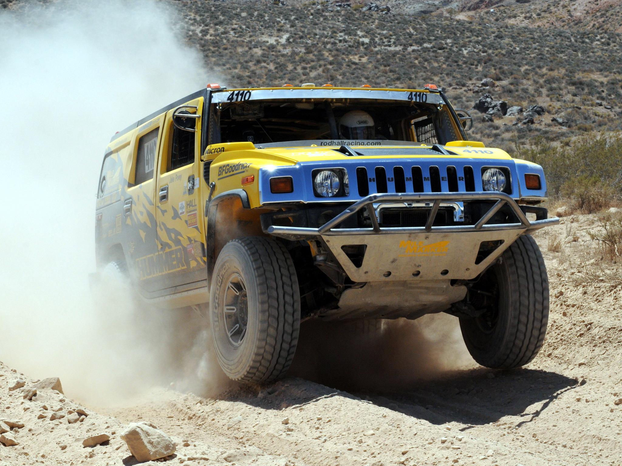 2007 Hummer H2 Race Truck Racing Offroad 4x4 Suv Wallpaper
