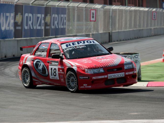 2007 Lada 110 WTCC race racing d wallpaper