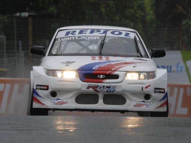 2007 Lada 110 WTCC race racing f wallpaper