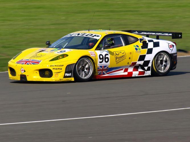 2007 Ferrari F430 GT race racing supercar g-t v wallpaper