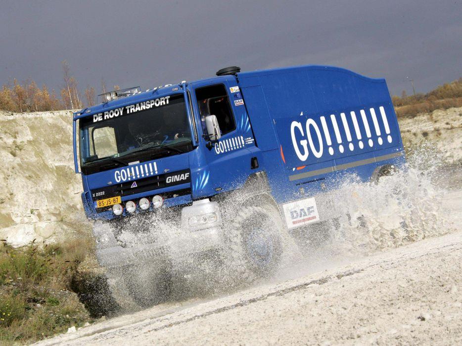 2007 GINAF X2222 Race Truck racing offroad 4x4 awd   g wallpaper