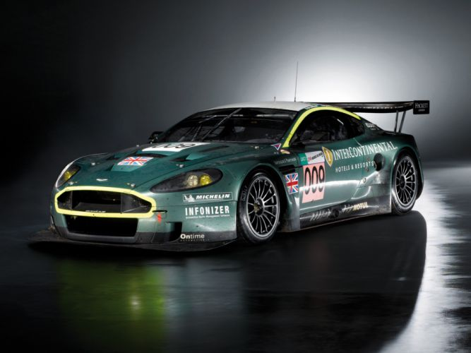 2007 Aston Martin DBR9 race racing wallpaper