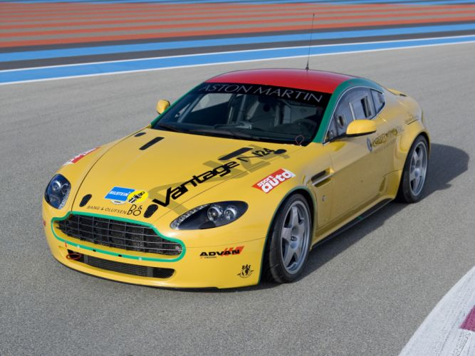 2007 Aston Martin V8 Vantage N24 race racing supercar v-8 f wallpaper
