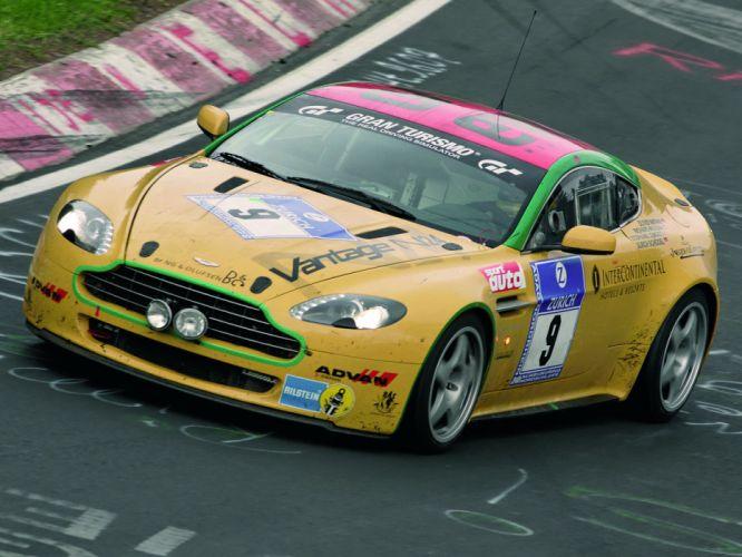 2007 Aston Martin V8 Vantage N24 race racing supercar v-8 y wallpaper