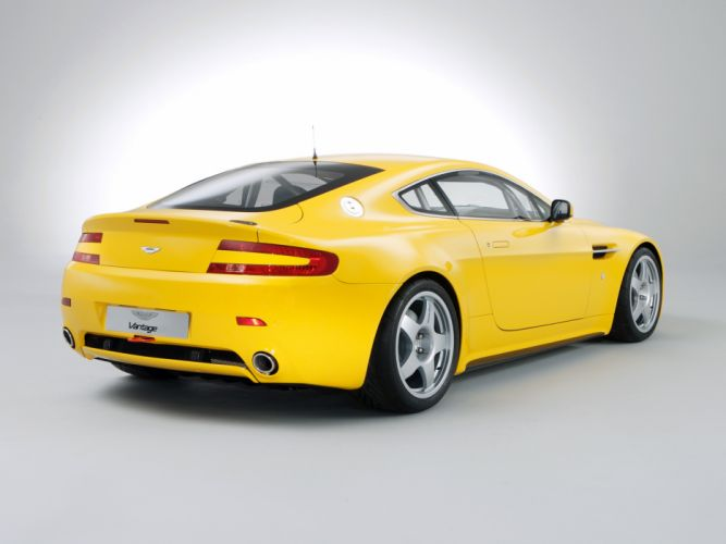 2007 Aston Martin V8 Vantage N24 race racing supercar v-8 j wallpaper