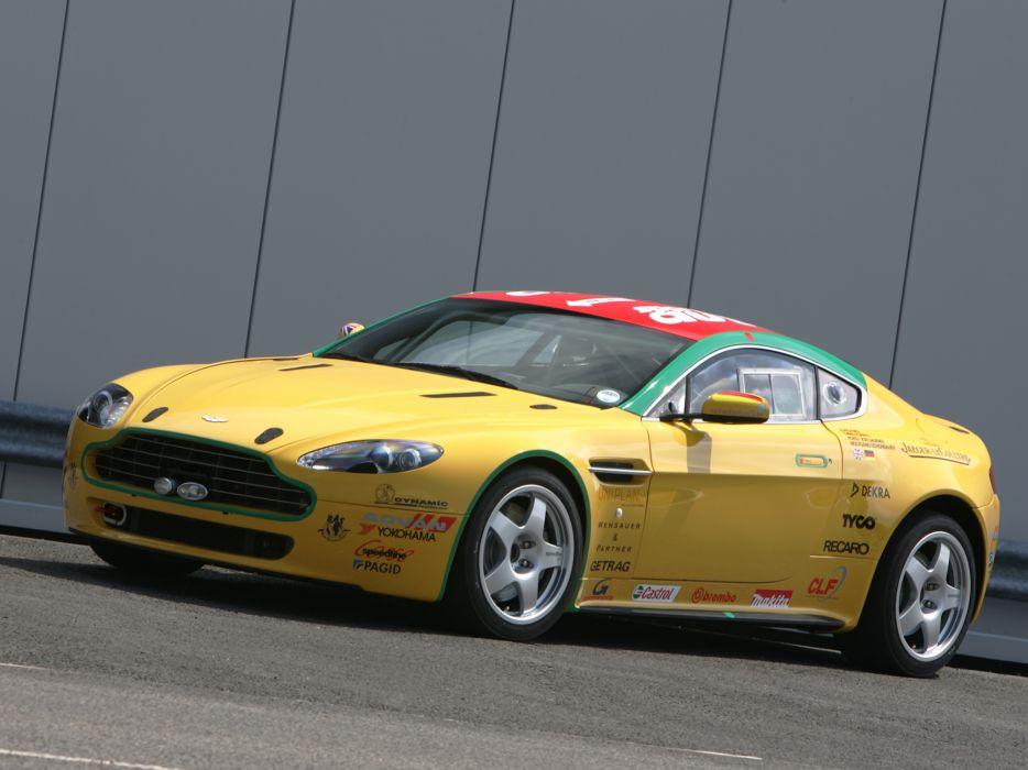 2007 Aston Martin V8 Vantage N24 race racing supercar v-8  jr wallpaper