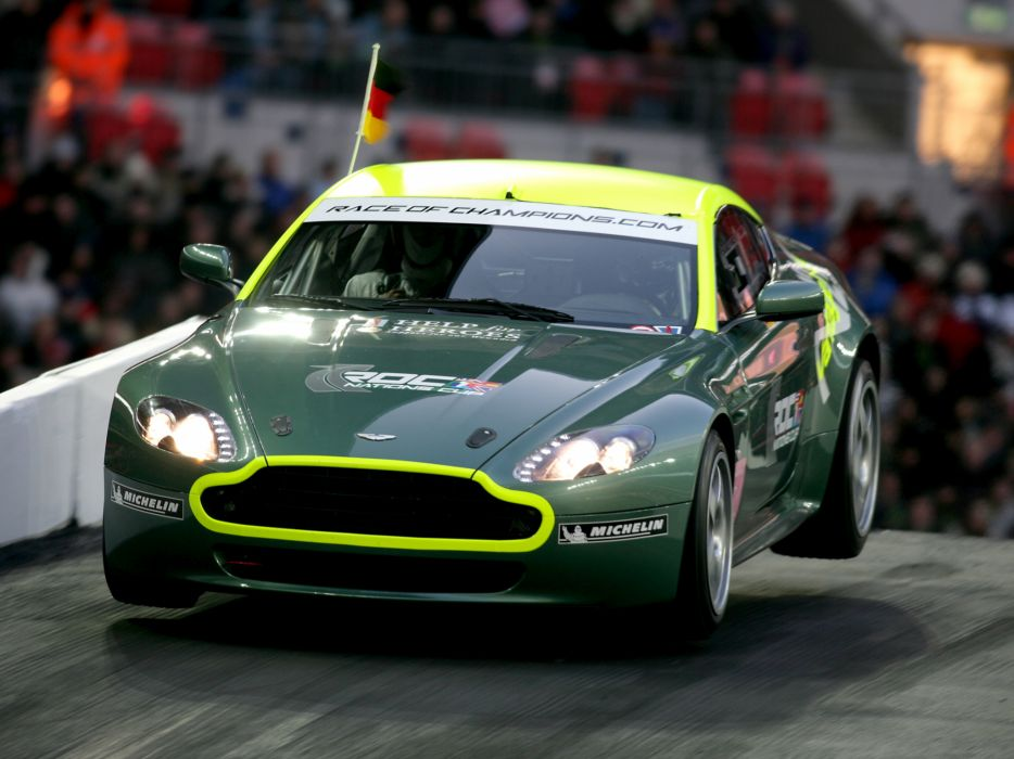 2007 Aston Martin V8 Vantage N24 race racing supercar v-8 wallpaper