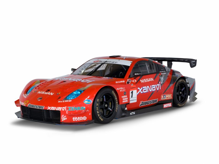 2007 Nissan 350Z Nismo Super-GT Z33 race racing supercar g-t   f wallpaper