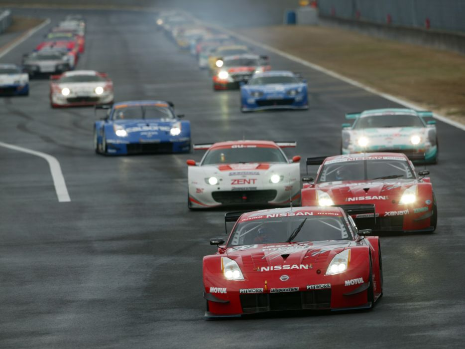 2007 Nissan 350Z Nismo Super-GT Z33 race racing supercar g-t  fe wallpaper