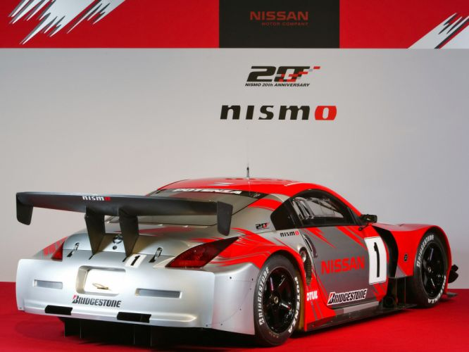 2007 Nissan 350Z Nismo Super-GT Z33 race racing supercar g-t wallpaper