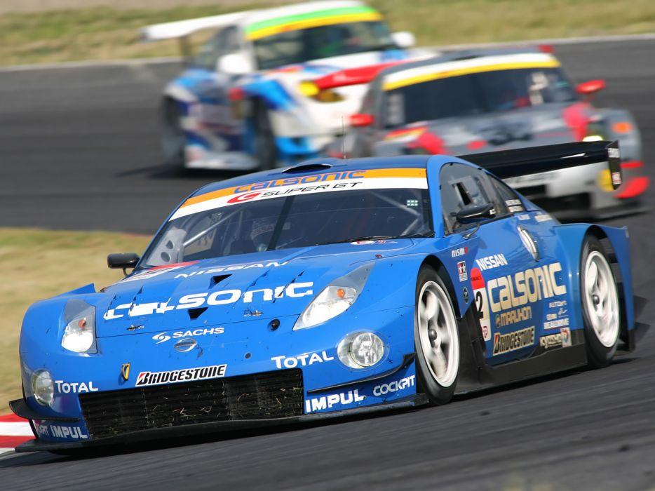 2007 Nissan 350Z Nismo Super-GT Z33 race racing supercar g-t   ry wallpaper
