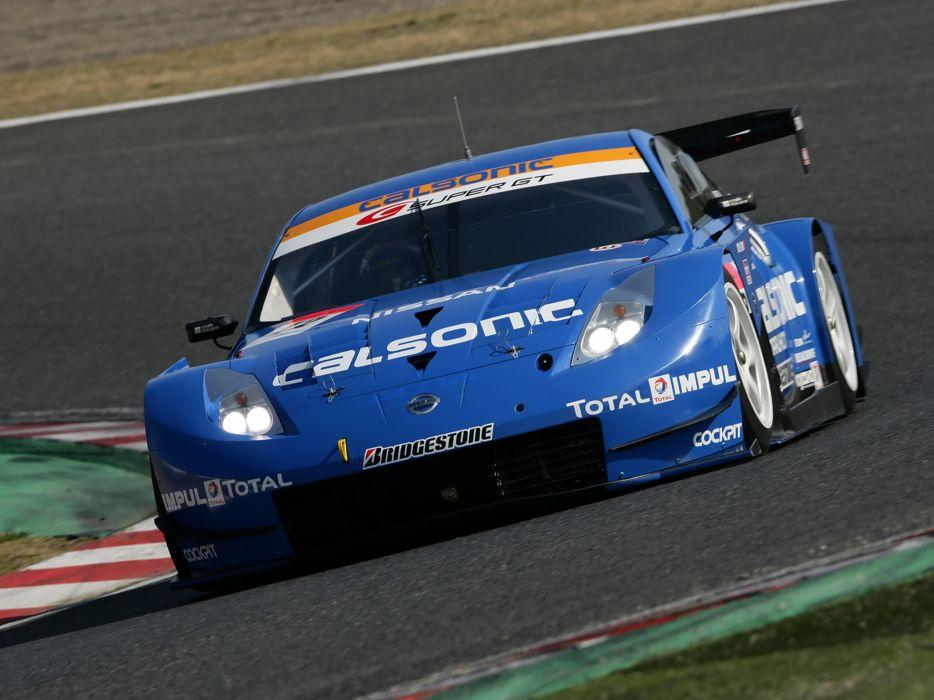 2007 Nissan 350Z Nismo Super-GT Z33 race racing supercar g-t  r wallpaper