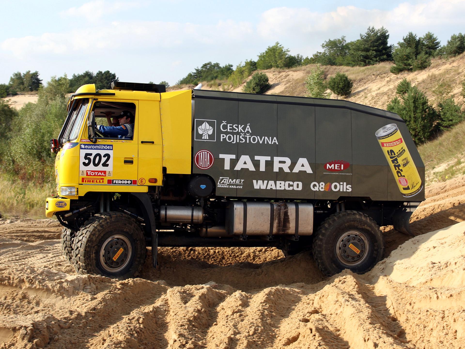 2007 Tatra T815 4x4 Rally Truck race racing offroad f ...
