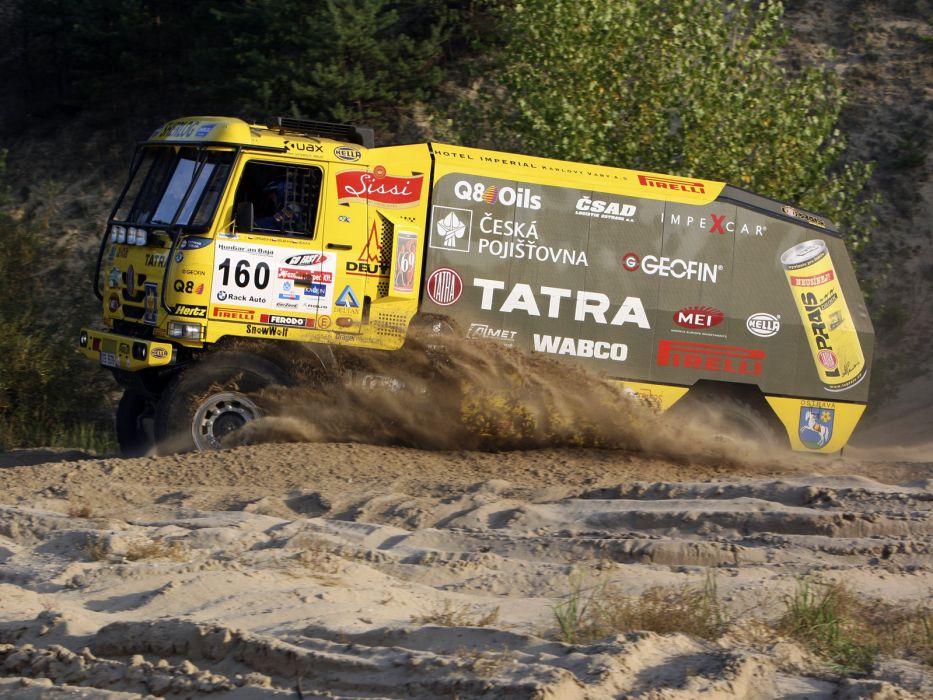 2007 Tatra T815 4x4 Rally Truck race racing offroad wallpaper