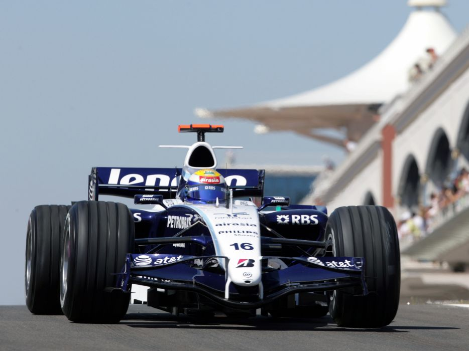 2007 Williams FW29 Formula One formula-1 f-1 race racing   d wallpaper