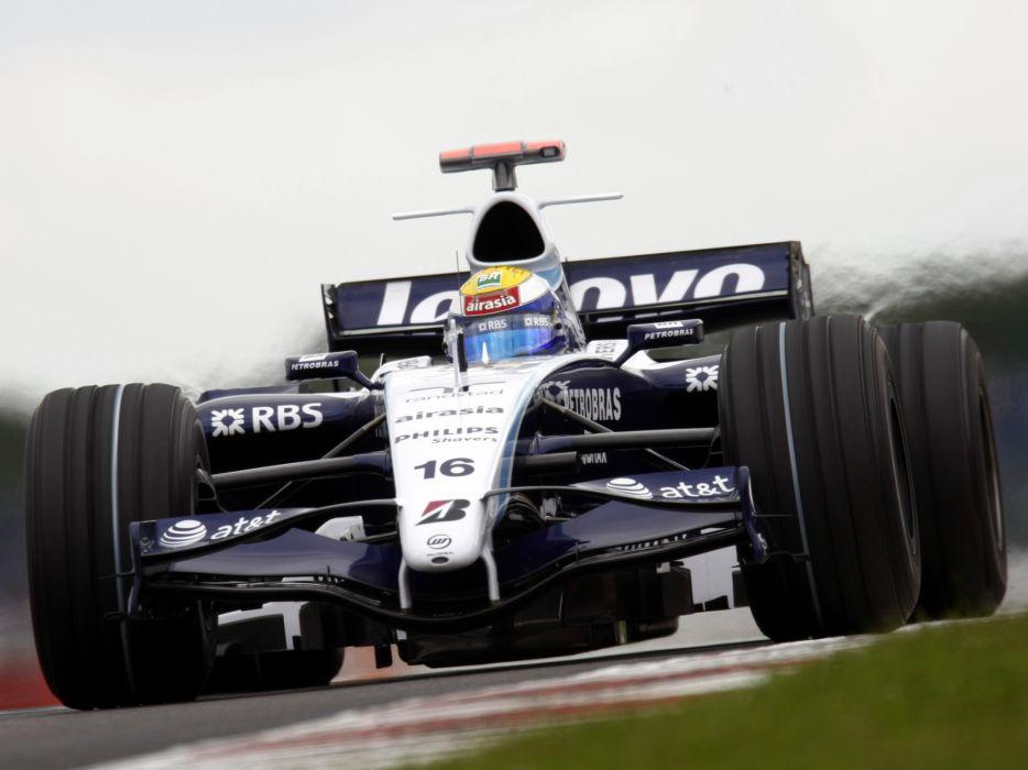 2007 Williams FW29 Formula One formula-1 f-1 race racing wheels f wallpaper