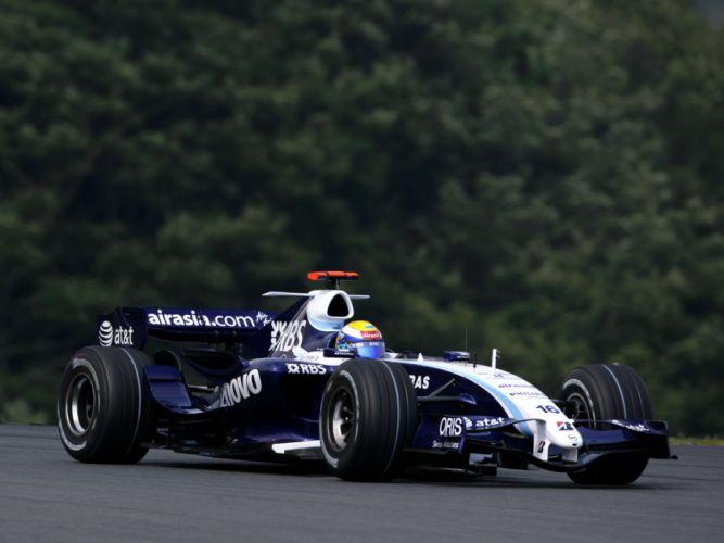 2007 Williams FW29 Formula One formula-1 f-1 race racing wallpaper