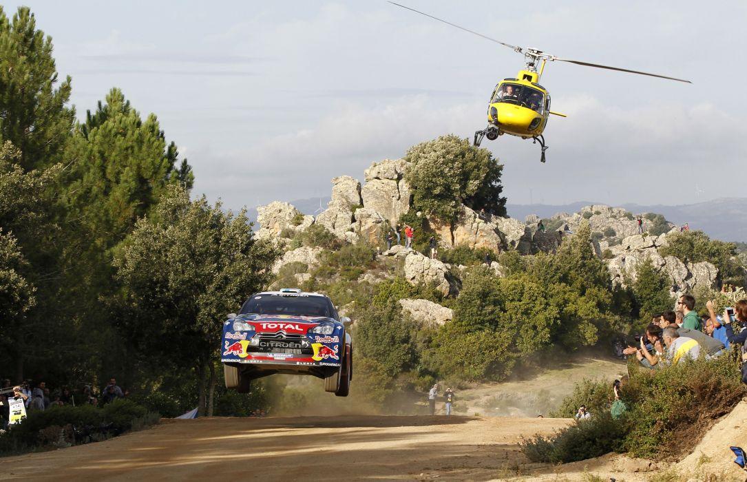 Citroen  DS3  Rally  Mikko Hirvonen  Jarmo Lehtinen  WRC  Helicopter  Car  Speed aeYaeY Race  Sports racing wallpaper
