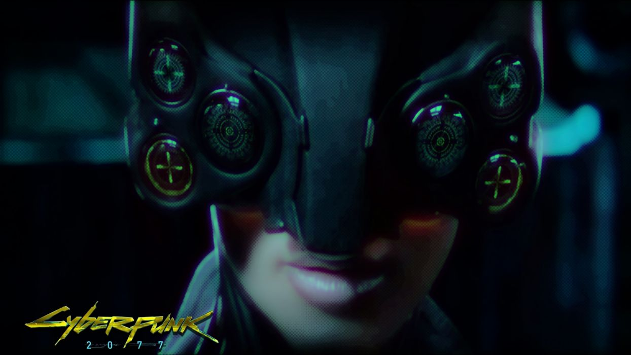 Cyberpunk 2077  game  girl  face  lips  hat  inscription sci-fi cyborg cyborgs mask wallpaper