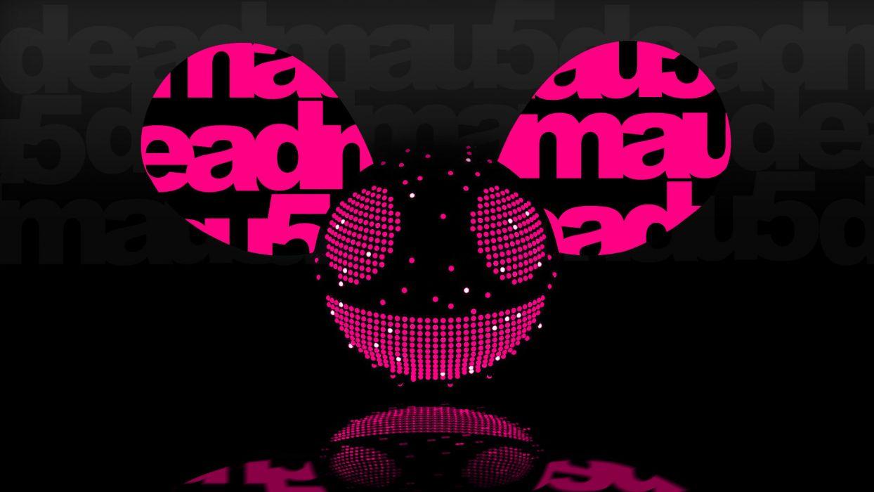 Deadmau5 Dedmaus DJ CJ Progressive House Electro House Logo Music background smile Mouse Ears wallpaper