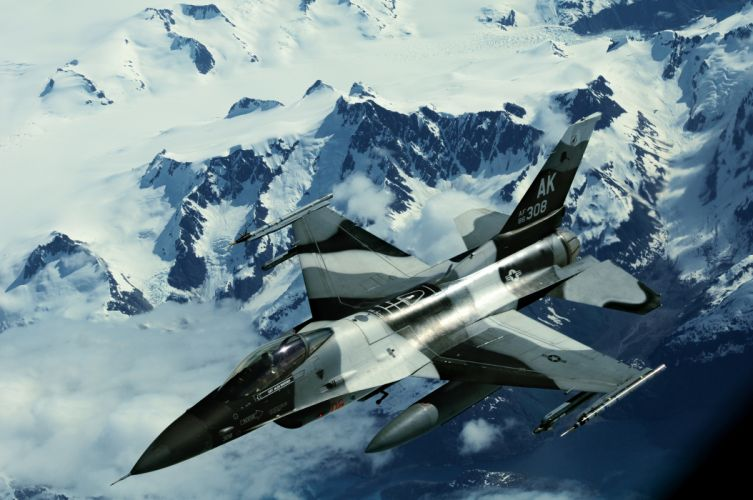 F-16 Fighting Falcon Northern Edge Alaska jet jets military air force wallpaper