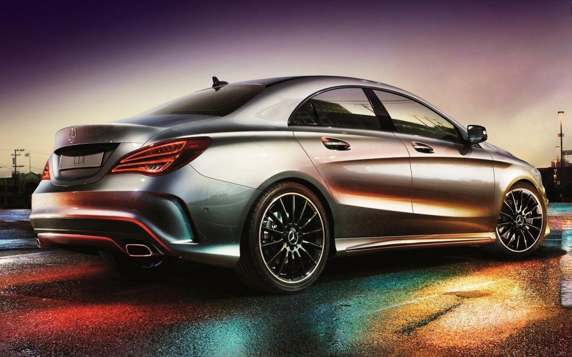 Mercedes Benz  CLA  250  AMG tuning wallpaper
