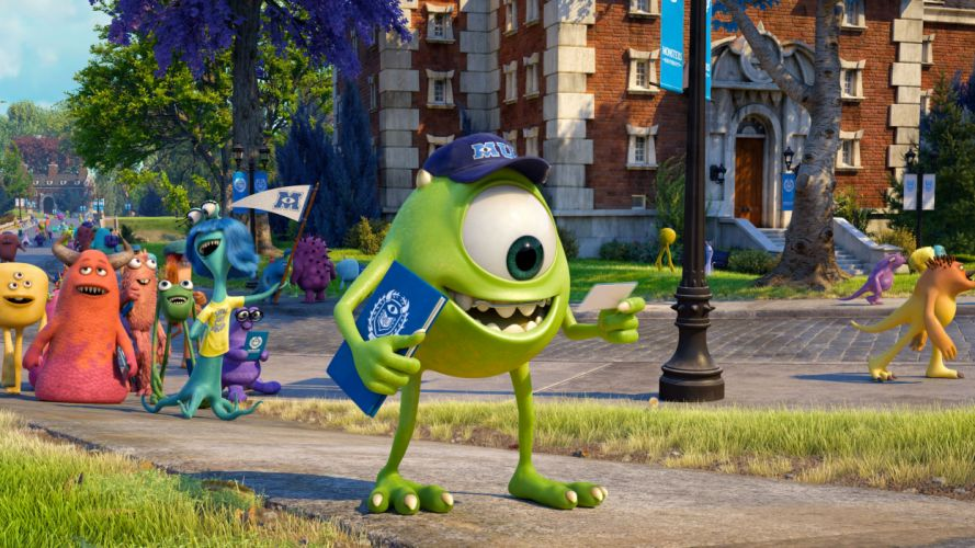 Monsters University Eyes Cartoons wallpaper