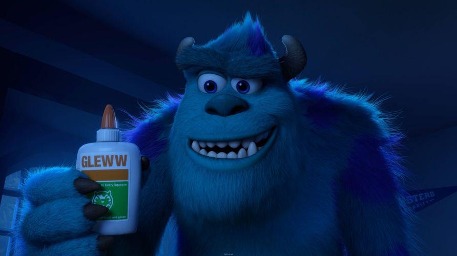 Monsters University Light Blue Teeth Cartoons wallpaper