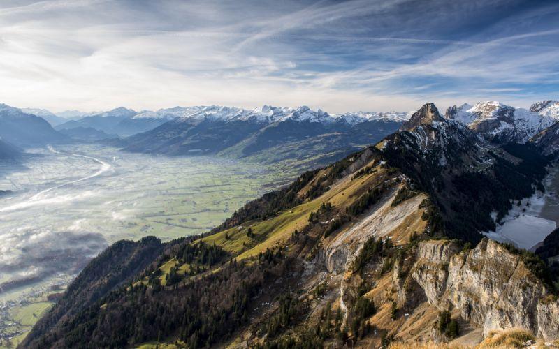 mountains sky landscape f wallpaper