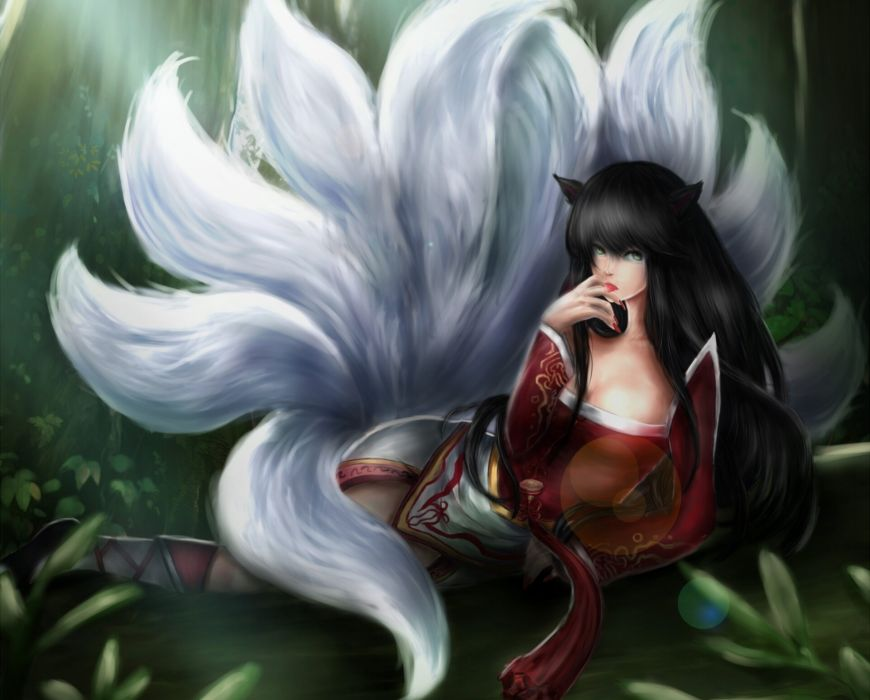 League of Legends Tail Games Girls Fantasy wallpaper
