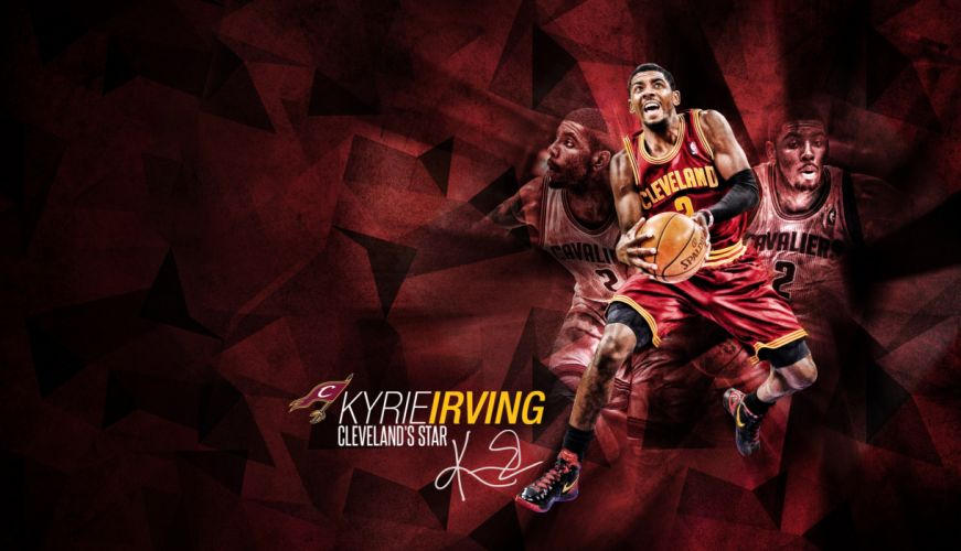 kyrie irving cleveland cavaliers nba basketball wallpaper