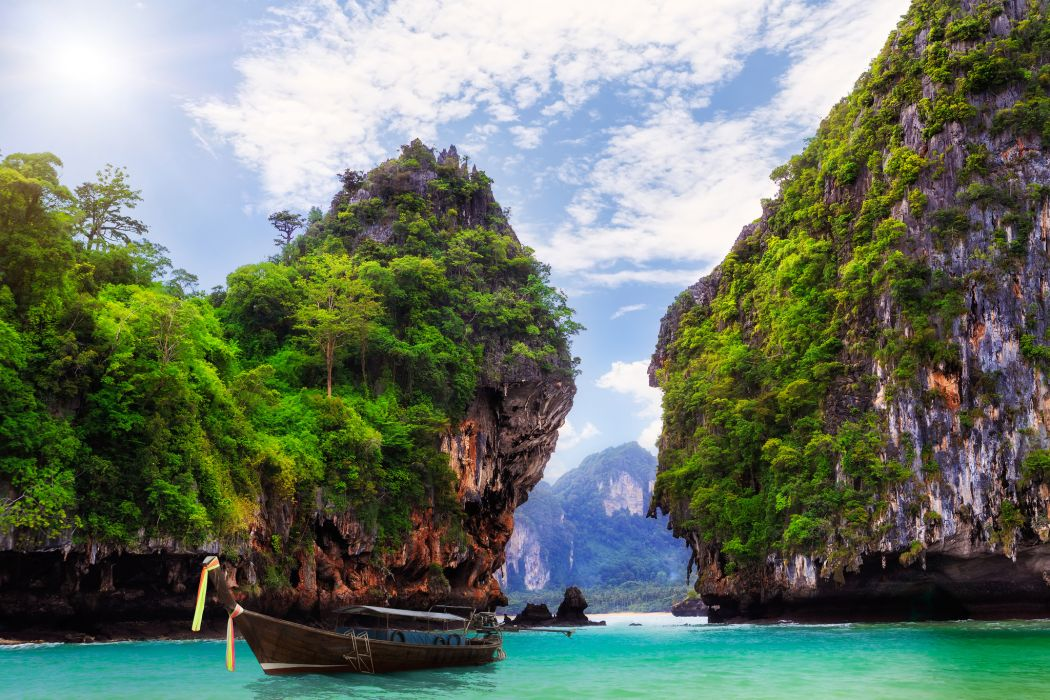 Thailand Resor Tropical Jungle Wallpaper