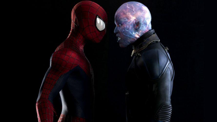 Spider-Man The Amazing Spider-Man Black Electro movies comics spider spiderman wallpaper