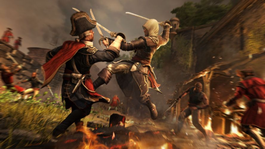 Assassins Creed 3 Warriors Battles Jump Games warrior fantasy wallpaper