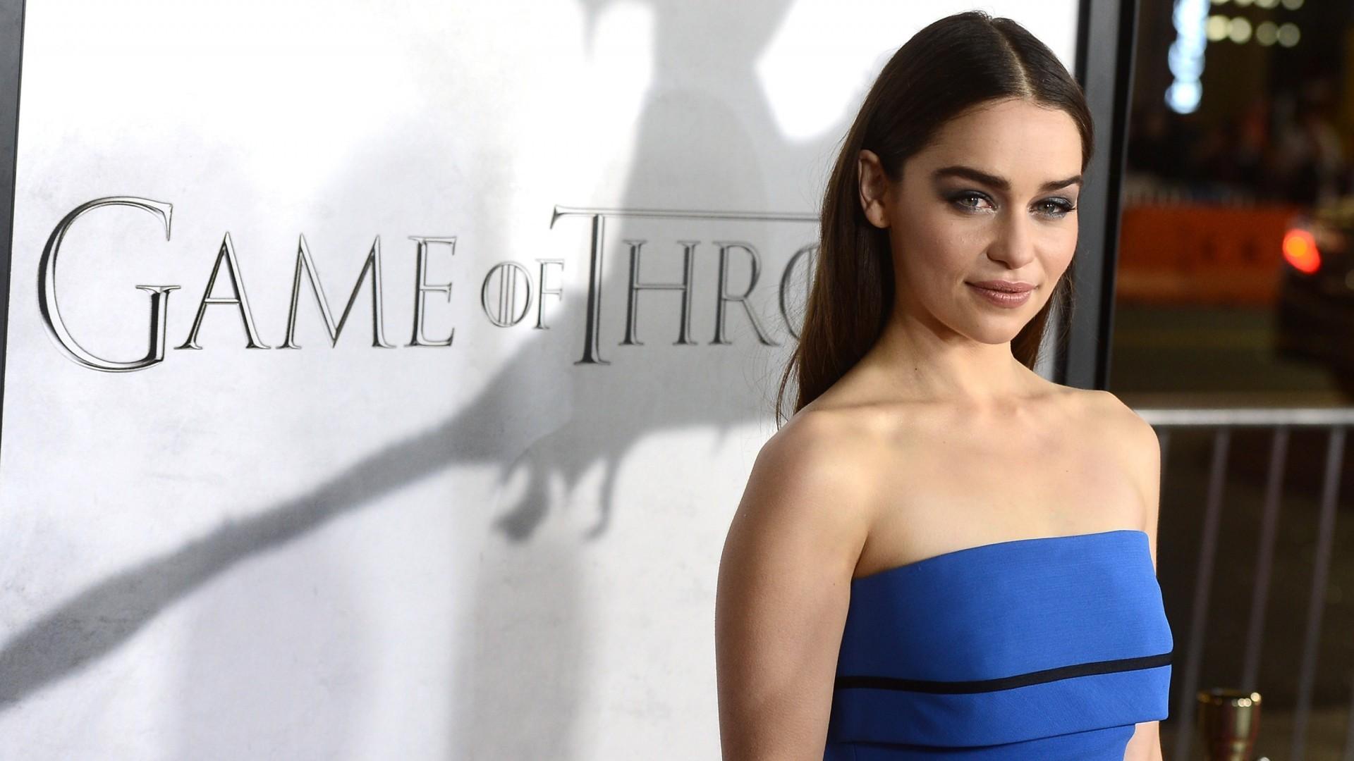 Game Of Thrones Daenerys Targaryen Brunette Emilia Clarke Wallpaper