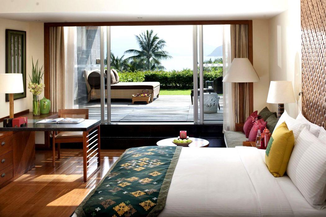 Interior Bed Design Window wallpaper
