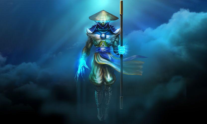 Mortal Kombat Warriors Raiden Games warrior fantasy magic wallpaper