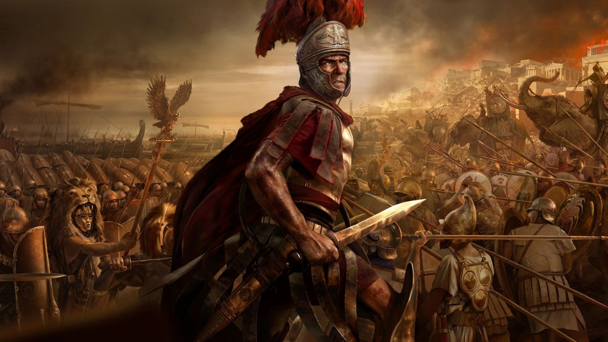 Total War Rome 2 Roman Soldier Sword Warrior Warriors Fantasy Battle Wallpaper