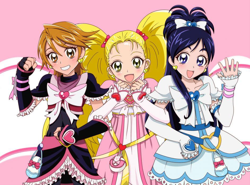 Futari wa Pretty Cure wallpaper
