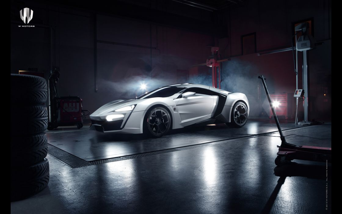 2013 Lykan Hypersport supercar supercars wallpaper