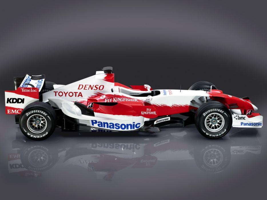 2007 Toyota TF107 formula one formula-1 f-1 race racing   f wallpaper