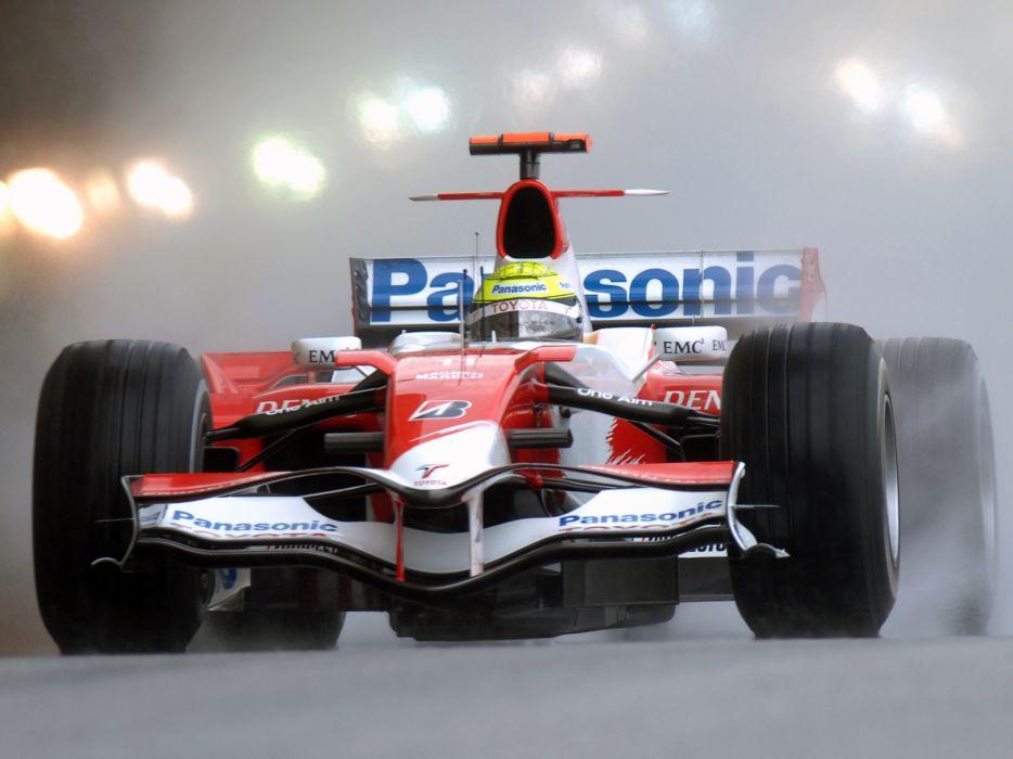 2007 Toyota TF107 formula one formula-1 f-1 race racing wallpaper
