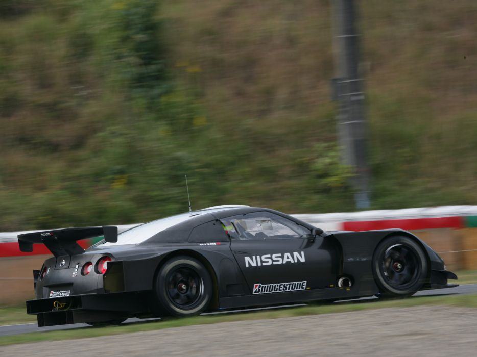2007 Nissan GT-R GT500 Prototype supercar supercars race racing      f wallpaper