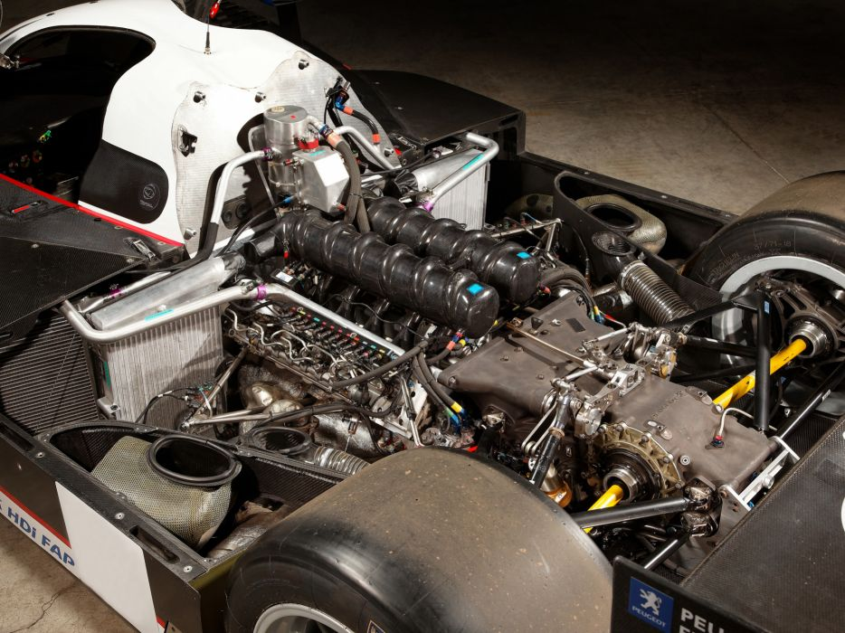 2007 Peugeot 908 HDi FAP race racing le-mans engine engines     g wallpaper