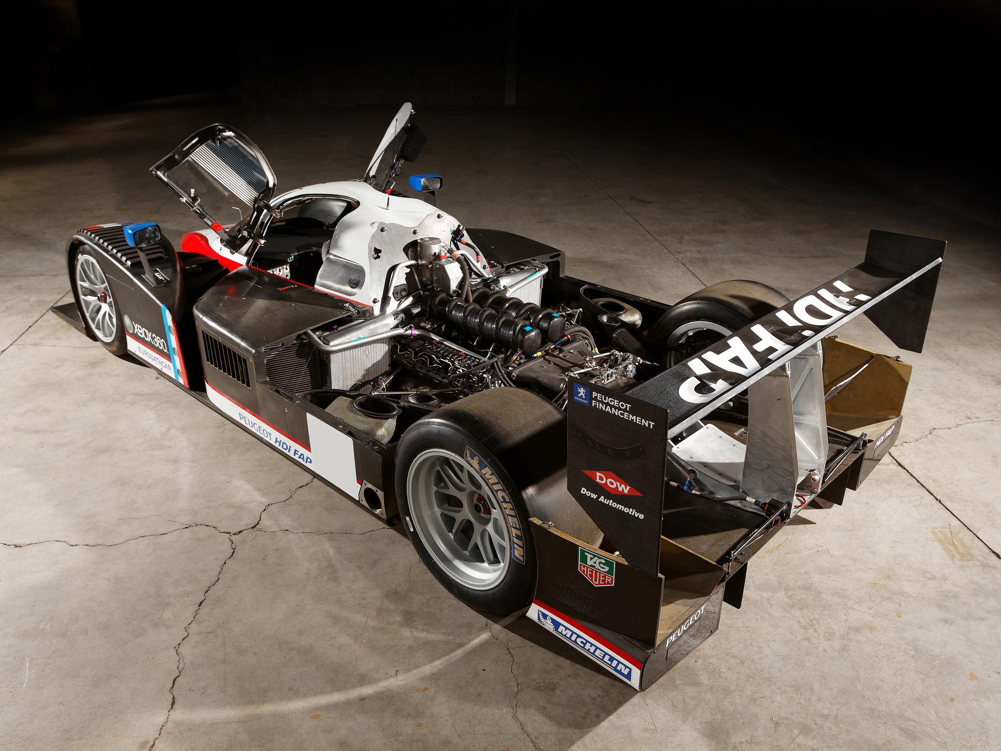 2007 peugeot 908 hdi fap race racing lemans engine