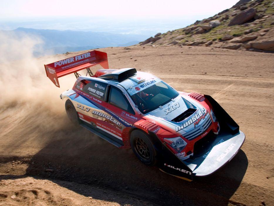 2007 Suzuki Sport XL7 Hill Climb Special pikes peak race racing wallpaper