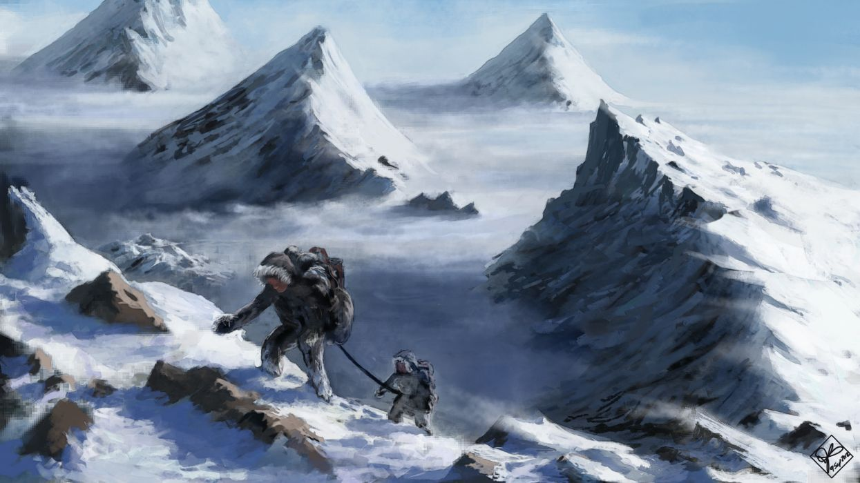 Beautiful Wallpaper Mountain Art - 8796e2638900532c20d6015ec9d1da69-700  You Should Have_369344.jpg