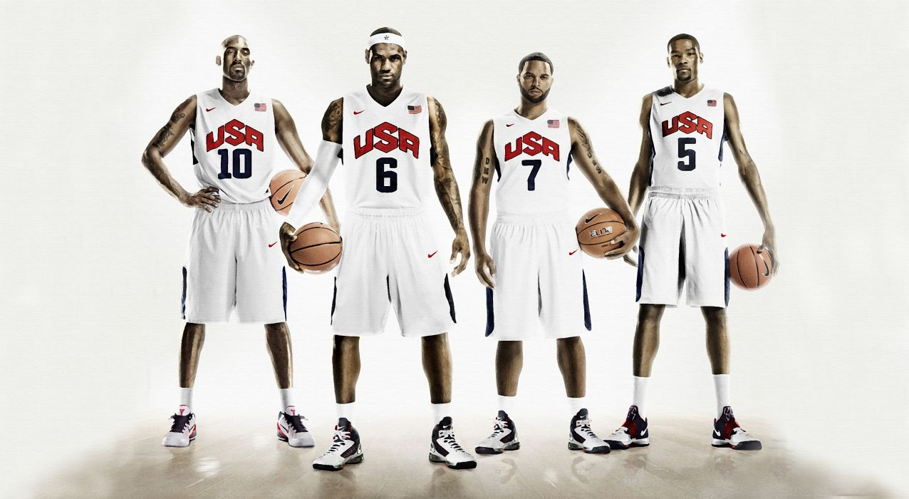 lebron james deron williams nike basketball kevin durant kobe bryant usa nba wallpaper